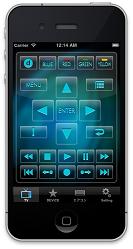 iRemocon クリアリモコン画面イメージ